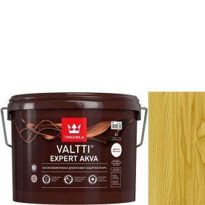 """Фото 6 - Лазурь """"Валтти Эксперт Аква"""" (Valtti expert akva) Сосна, полуматовая для древесины """"Tikkurila""""."""
