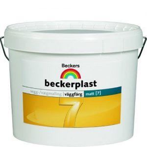 """Фото 4 - Краска """"БеккерПласт 7 Интерио"""" (BeckerPlast 7  Interio) латексная матовая для стен и потолков """"Беккерс/Beckers""""."""