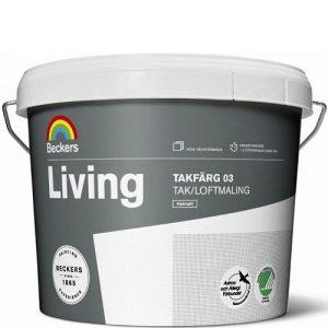 "Фото 9 - Краска ""Ливинг Тагфарг 03"" (Living Tagfarg 03) латексная матовая для потолков ""Беккерс/Beckers""."