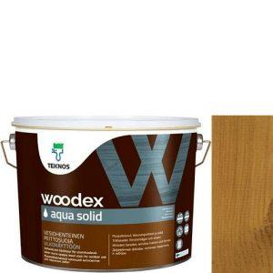 """Фото 4 - Антисептик """"Вудекс Аква Солид"""" TVT 1804 (Woodex Aqua Solid) полуматовая акрилатно-алкидная """"Teknos""""."""
