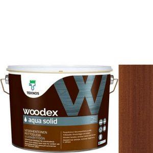 """Фото 11 - Антисептик """"Вудекс Аква Солид"""" TVT 1811 (Woodex Aqua Solid) полуматовая акрилатно-алкидная """"Teknos""""."""
