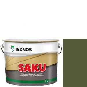 """Фото 13 - Краска фасадная """"Цаку"""" Т7013 (Saku) дисперсионная матовая для бетонных поверхностей """"Teknos""""."""