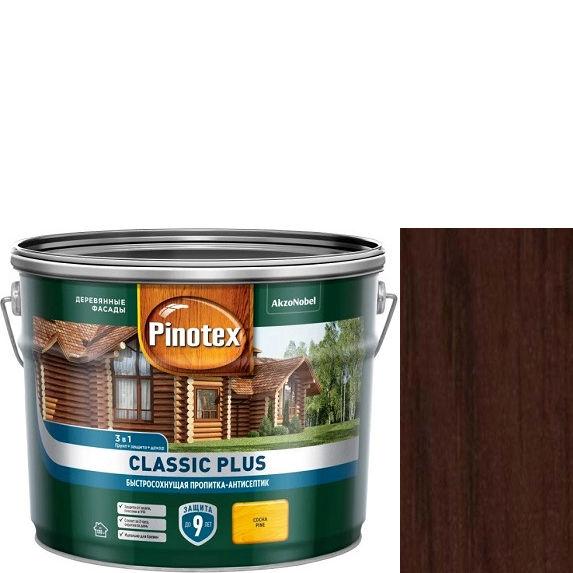 """Фото 1 - Антисептик """"Pinotex Classic Plus"""" Палисандр, полуматовая пропитка для защиты древесины """"Пинотекс""""."""