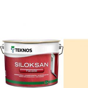 "Фото 8 - Краска фасадная  ""Силоксан Фасад"" S0510-Y40R (Siloksan Facade) силиконовая матовая ""Teknos""."