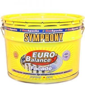 "Фото 2 - Краска фасадная ""Евро Баланс Фасад Норд"" (Euro Balance Faсade Nord) акрилатная матовая ""Symphony""."