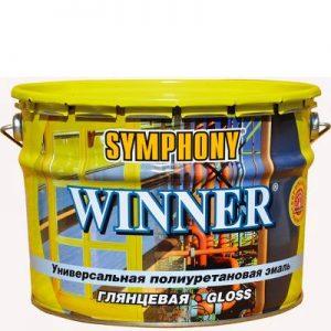"""Фото 11 - Эмаль """"Виннер"""" (Winner) полиуретоновая универсальная для металлических поверхностей """"Symphony""""."""