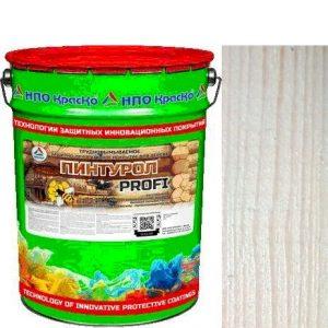 Фото 8 - Пинтурол PROFI - защитно-декоративное покрытие для дерева с натуральным маслом и воском (Береза) 8кг-15кг.
