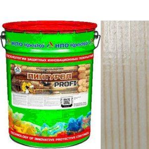 Фото 8 - Пинтурол PROFI - защитно-декоративное покрытие для дерева с натуральным маслом и воском (Бесцветный) 8кг-15кг.