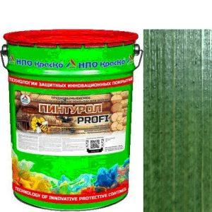 Фото 10 - Пинтурол PROFI - защитно-декоративное покрытие для дерева с натуральным маслом и воском (Ель) 8кг-15кг.