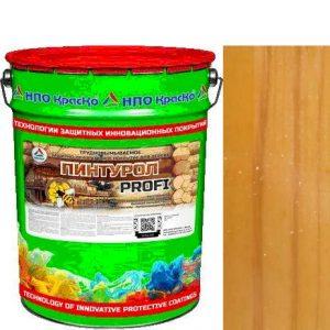 Фото 10 - Пинтурол PROFI - защитно-декоративное покрытие для дерева с натуральным маслом и воском (Сосна) 8кг-15кг.