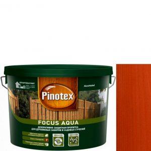 """Фото 6 - Пропитка """"Pinotex Focus Aqua"""" Рябина, полуматовая для защиты древесины """"Пинотекс""""."""