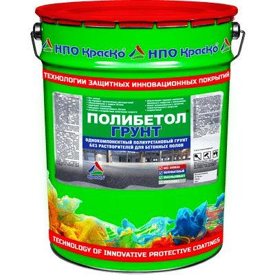 """Фото 1 - Грунт """"Полибетол-Грунт"""" полиуретановый для бетонных полов (без растворителей и без запаха) """"КрасКо""""."""
