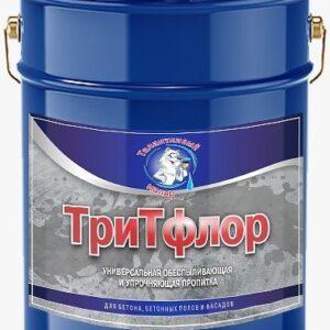 """Фото 1 - TF0001 Пропитка """"ТриТфлор"""" обеспыливающая и упрочняющая для бетонных полов """"Талантливый маляр"""", 20 л."""