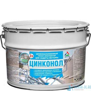 Фото 1 - Цинконол - полиуретановый грунт-протектор для антикоррозионной защиты металла (жидкий цинк) 20кг.
