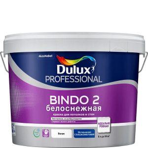 """Фото 7 - Краска """"Dulux"""" Биндо 2 (Bindo 2, Innetak) акриловая белая глубокоматовая интерьерная """"AkzoNobel""""."""