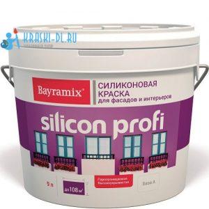 """Фото 1 - Краска """"Силикон Профи"""" (Silikon Profi) фасадная водоэмульсионная акриловая матовая """"Bayramix""""  Белый База-А."""