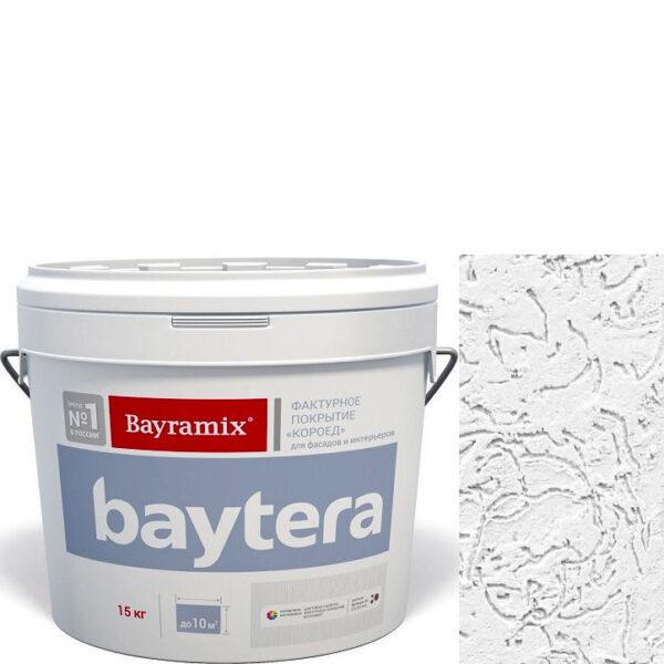 """Фото 1 - Покрытие """"Байтера Короед Белое"""" (Baytera) фактурное для внутр/наружных  работ """"Байрамикс/Bayramix""""."""