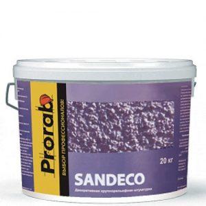 """Фото 1 - Краска """"Сандеко"""" (Sandeco) фактурная с эффектом песка """"Прораб/Prorab""""."""