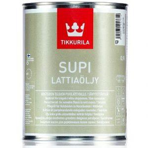 """Фото 6 - Супи масло """"Супи Латиаолью"""" (Supi Lattiaolju) для пола """"Тиккурила/Tikkurila""""."""