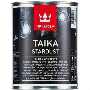 "Фото 2 - Лазурь ""Тайка"" (Taika Stardust) лессирующая, мерцающий эффект, глубокоматовая ""Тиккурила/Tikkurila""."