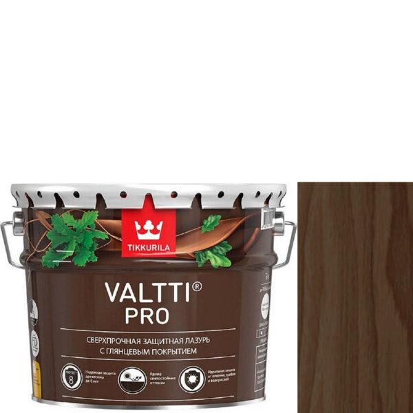 """Фото 1 - Лазурь """"Валтти Про"""" (Valtti Pro) Палисандр,  глянцевая для защиты древесины """"Tikkurila""""."""