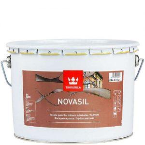 """Фото 3 - Краска """"Новасил"""" (Novasil) фасадная глубокоматовая силиконмодифицированная """"Тиккурила/Tikkurila""""."""