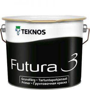 """Фото 4 - Краска грунтовочная """"Футура 3"""" (Futura 3) алкидная матовая универсальная """"Teknos""""."""