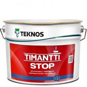 """Фото 2 - Грунтовка """"Тимантти Стоп"""" (Timantti Stop) алкидная матовая водоразбавляемая  """"Teknos""""."""