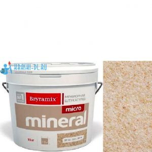 "Фото 2 - Штукатурка ""Микроминерал 601"" (Micro Mineral) мраморная, фракция 0,2-0,5 мм ""Байрамикс/Bayramix""."