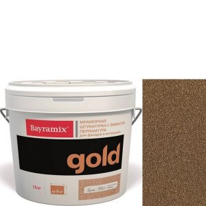 "Фото 13 - Штукатурка ""Минерал Голд GN 019"" (Mineral Gold) мозаичная мраморная, фракция 0,7-1,2 мм ""Bayramix""."