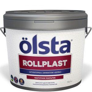"""Фото 2 - Покрытие """"Роллпласт"""" (Rollplast) фасадное шелковисто-матовое с эффектом """"Шуба"""" """"Олста/Olsta""""."""