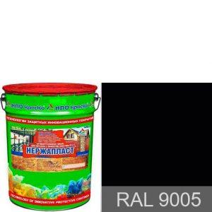 Фото 2 - Нержапласт - антикоррозионная алкидно-уретановая краска «жидкий пластик» для чистых и ржавых металлических поверхностей,  формула 3 в 1 (RAL 9005).