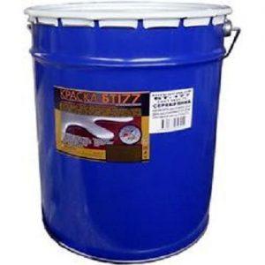 """Фото 1 - Краска """"БТ 177"""" Серебристая, для бетонных или металлических поверхностей """"Новоколор/Novocolor""""."""