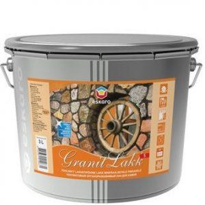 """Фото 2 - Лак """"Гранит С"""" (Granit Lakk S) Бесцветный, органоразбавимый полуматовый для камня """"Eskaro""""."""