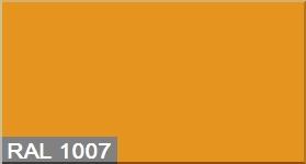 """Фото 8 - Колеровка  1 доза по цвету RAL/РАЛ 1007 Нарциссово-жёлтый (база """"С"""", на 0,9л краски)."""