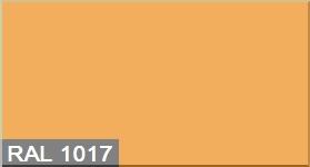 """Фото 15 - Колеровка  1 доза по цвету RAL/РАЛ 1017 Шафраново-жёлтый (база """"С"""", на 0,9л краски)."""