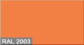 """Фото 4 - Колеровка  1 доза по цвету RAL/РАЛ 2003 Пастельно-оранжевый (база """"С"""", на 0,9л краски)."""