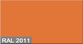 """Фото 14 - Колеровка  1 доза по цвету RAL/РАЛ 2011 Насыщенный-оранжевый (база """"С"""", на 0,9л краски)."""
