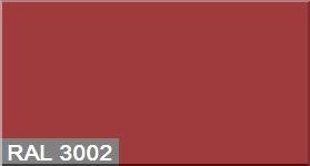 """Фото 3 - Колеровка по цвету RAL/РАЛ 3002 Карминно-красный (база """"С"""", 1л)."""