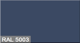 """Фото 7 - Колеровка  1 доза по цвету RAL/РАЛ 5003 Сапфирово-синий (база """"С"""", на 0,9л краски)."""