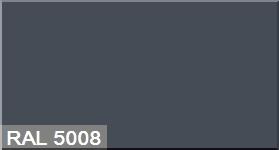 """Фото 15 - Колеровка  1 доза по цвету RAL/РАЛ 5008 Серо-синий (база """"С"""", на 0,9л краски)."""
