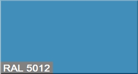 """Фото 23 - Колеровка  1 доза по цвету RAL/РАЛ 5012 Голубой (база """"С"""", на 0,9л краски)."""