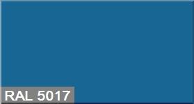 """Фото 31 - Колеровка  1 доза по цвету RAL/РАЛ 5017 Транспортный синий (база """"С"""", на 0,9л краски)."""