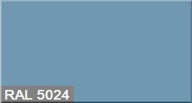 """Фото 45 - Колеровка  1 доза по цвету RAL/РАЛ 5024 Пастельно-синий (база """"С"""", на 0,9л краски)."""