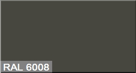 """Фото 9 - Колеровка  1 доза по цвету RAL/РАЛ 6008 Коричнево-зеленый (база """"С"""", на 0,9л краски)."""