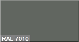 """Фото 18 - Колеровка  1 доза по цвету RAL/РАЛ 7010 Серый брезент (база """"С"""", на 0,9л краски)."""