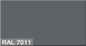 """Фото 20 - Колеровка  1 доза по цвету RAL/РАЛ 7011 Серый металл (база """"С"""", на 0,9л краски)."""