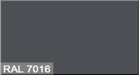 """Фото 28 - Колеровка  1 доза по цвету RAL/РАЛ 7016 Серый антрацит (база """"С"""", на 0,9л краски)."""