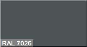 """Фото 38 - Колеровка  1 доза по цвету RAL/РАЛ 7026 Серый гранит (база """"С"""", на 0,9л краски)."""