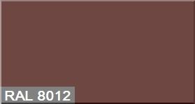 """Фото 17 - Колеровка  1 доза по цвету RAL/РАЛ 8012 Красно-коричневый (база """"С"""", на 0,9л краски)."""